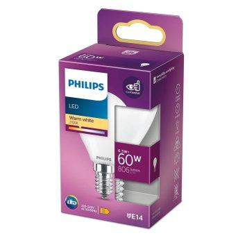 Philips LED E14 6,5 Watt 2700 Kelvin 806 Lumen