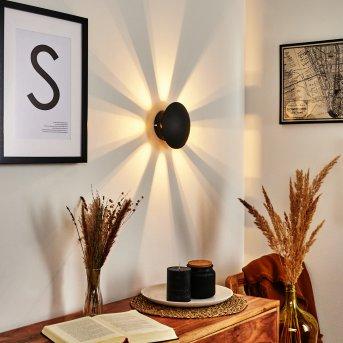 Mezia Wall Light LED black, 1-light source