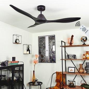 Follseland ceiling fan black, Remote control