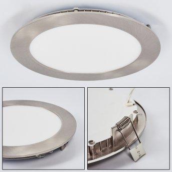 Finsrud recessed light LED matt nickel, 1-light source