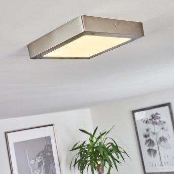 Finsrud Ceiling Light LED matt nickel, 1-light source