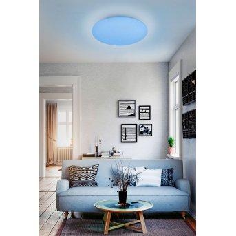 Reality WIZ FARA Ceiling Light LED white, Glittering, 1-light source, Colour changer