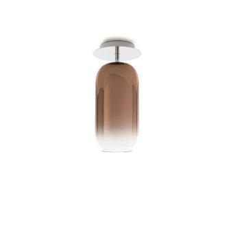 Artemide Gople Mini Ceiling Light aluminium, 1-light source