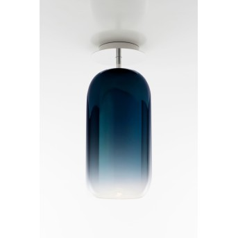 Artemide Gople Ceiling Light aluminium, 1-light source