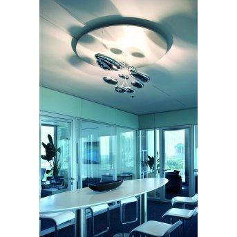 Artemide Mercury Ceiling Light LED chrome, 1-light source