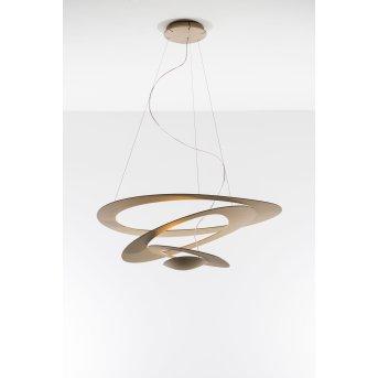 Artemide Pirce Mini Pendant Light LED gold, 1-light source