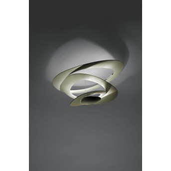 Artemide Pirce Ceiling Light LED gold, 1-light source
