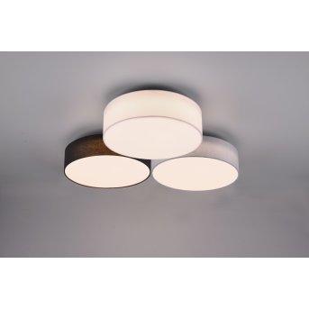 Trio Lugano Ceiling Light LED white, 1-light source