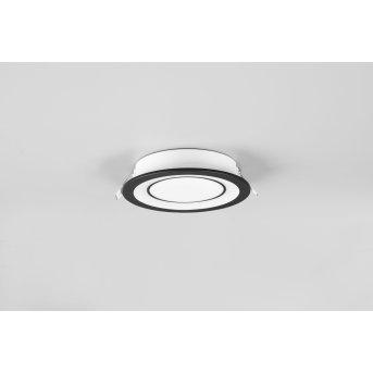 Trio Core recessed light LED black, 1-light source