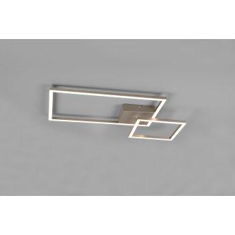Reality Padella Ceiling Light LED matt nickel, 1-light source