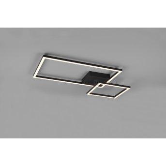 Reality Padella Ceiling Light LED black, 1-light source