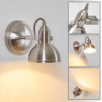 TINA wall light matt nickel, 1-light source