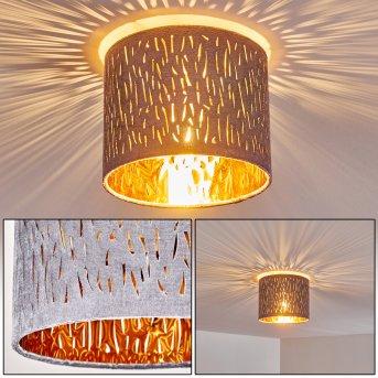 Ceiling Light Liared matt nickel, 1-light source