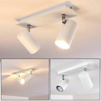 Ceiling Light Zuoz white, 2-light sources