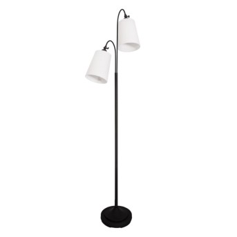 Floor Lamp By Rydens Duetto black, 2-light sources