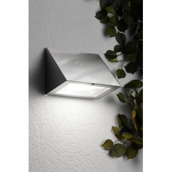 CMD AQUA PESO Wall Light LED stainless steel, 1-light source