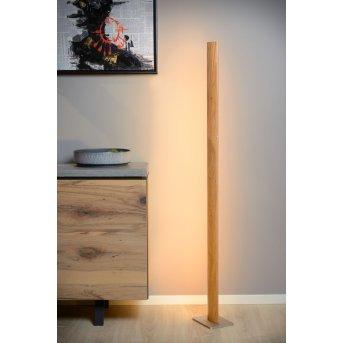 Lucide SYTZE Floor Lamp LED Light wood, 1-light source