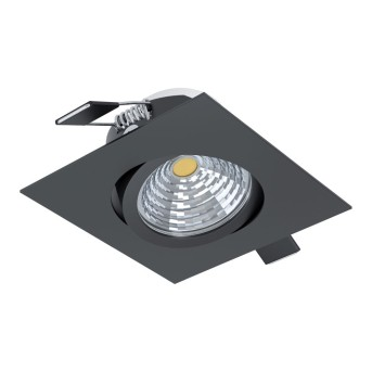 Eglo SALICETO recessed light LED black, 1-light source
