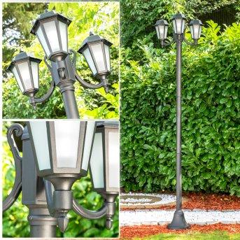 NATAL FROST Lamp Post black, 3-light sources