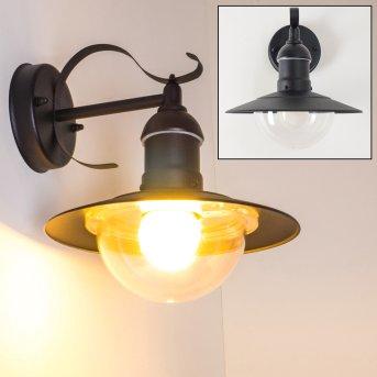 Broni Outdoor Wall Light black, 1-light source