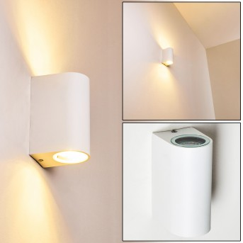 Outdoor Wall Light Pailly LED white, 2-light sources