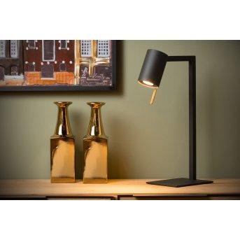 Table Lamp Lucide LESLEY black, 1-light source