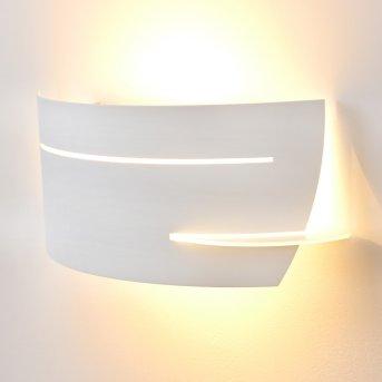 Novara wall light white, 1-light source
