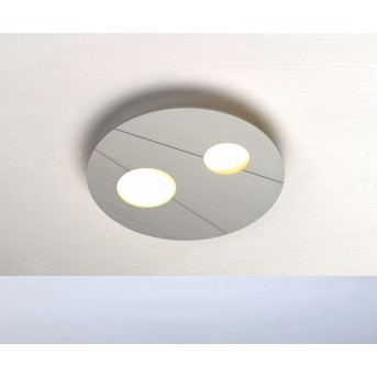 Bopp GRAFICO Ceiling Light LED aluminium, 2-light sources