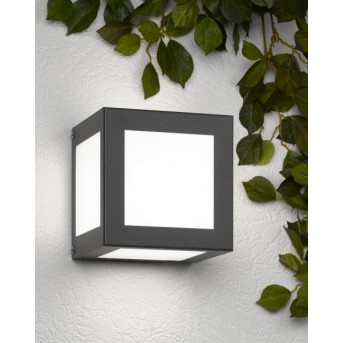 CMD AQUA CUBO Wall Light anthracite, 1-light source