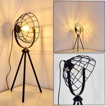 FLAMBEAU Table Lamp black, 1-light source