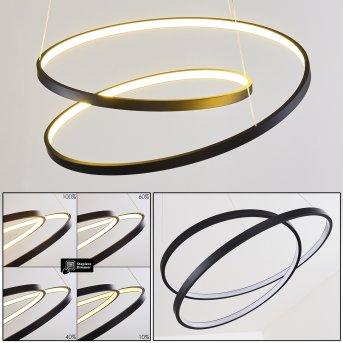 Pura Pendant Light LED black, 1-light source