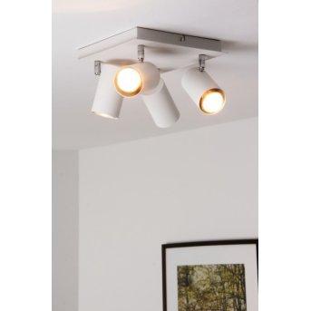 Trio 8024 ceiling light white, 4-light sources