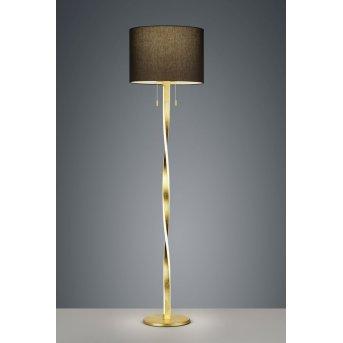 Trio NANDOR Floor Lamp LED gold, 3-light sources