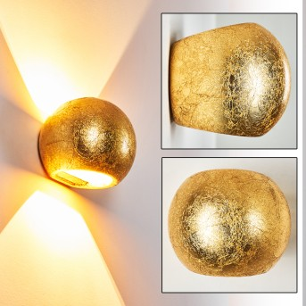 FLOT Wall Light gold, 1-light source