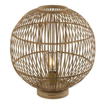 Globo HILDEGARD Table lamp brown, 1-light source