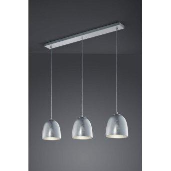 Trio ONTARIO hanging light matt nickel, 3-light sources