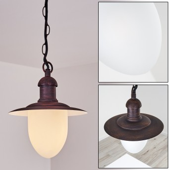 Surnu outdoor light rust-coloured, 1-light source