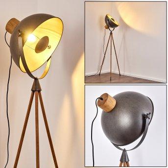 Floor Lamp Tholen brown, 1-light source