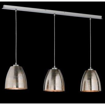 Honsel SHINE pendant light matt nickel, 3-light sources