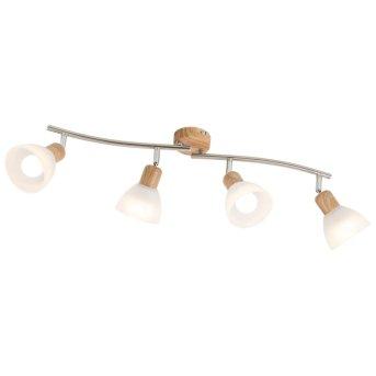 Spotlight Nino Leuchten DAYTONA LED Light wood, 4-light sources