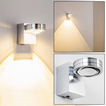 Florenz bathroom light LED aluminium, 1-light source