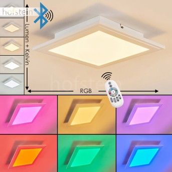 VOISINES Ceiling light LED white, 1-light source, Remote control, Colour changer