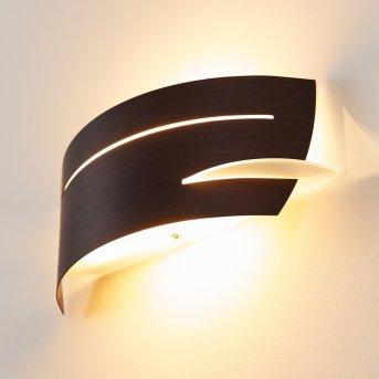 Novara wall light brown, 1-light source