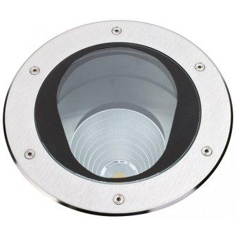 Albert 2422 recessed ground light LED stainless steel, 1-light source