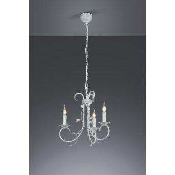 Trio-Leuchten Classy Pendant Light grey, 3-light sources