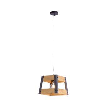 Leuchten-Direkt CRATE Pendant Light Light wood, 1-light source
