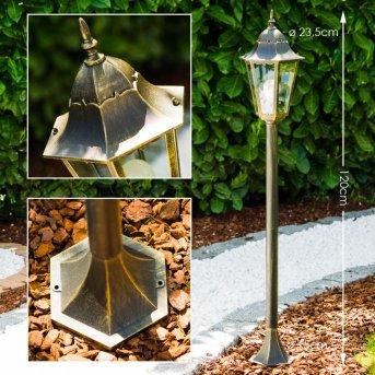 Hongkong Outdoor Floor Lamp gold, bronze, 1-light source
