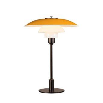 Louis Poulsen 3½-2½ Table Lamp yellow, 1-light source