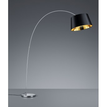 Trio-Leuchten Linz Floor Lamp chrome, 1-light source