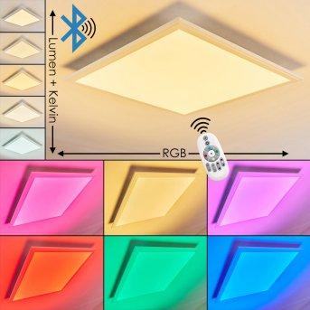 VOISINES Ceiling light LED white, 1-light source, Remote control, Colour changer